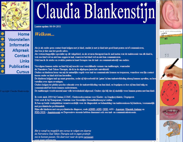 Claudia Blankenstijn Website